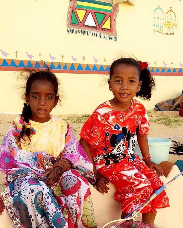 Aswan - two beautifull girls