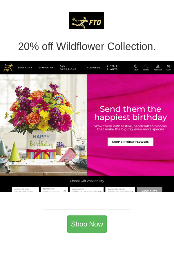 Best Deals And Coupons For Ftd In 2020 Ftd Flower Gift Birthday Flowers