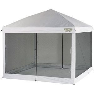 Wenzel 10 X 10 Straight Leg Smartshade Screenhouse Walmart Com Screen House Screen Tent Shade Screen