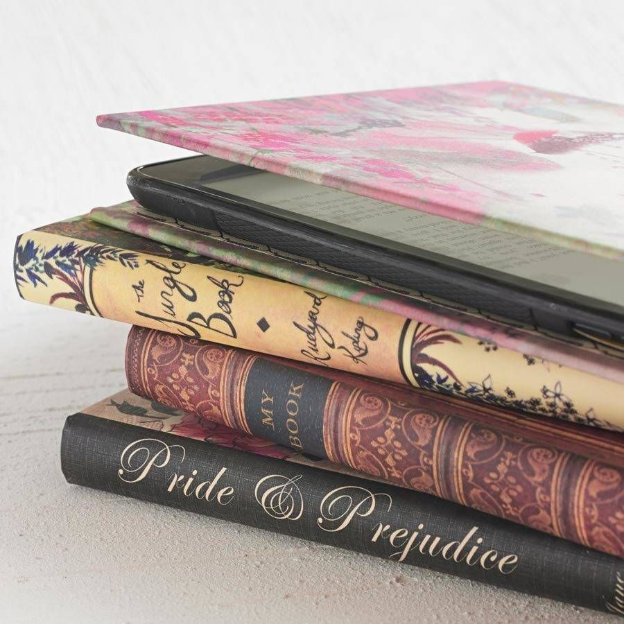 Classic Book Cover Kindle Case In Various Designs For Me