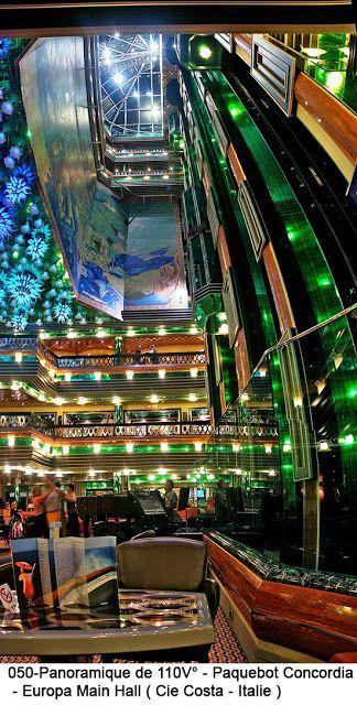 Costa Concordia - Europa Main Hall