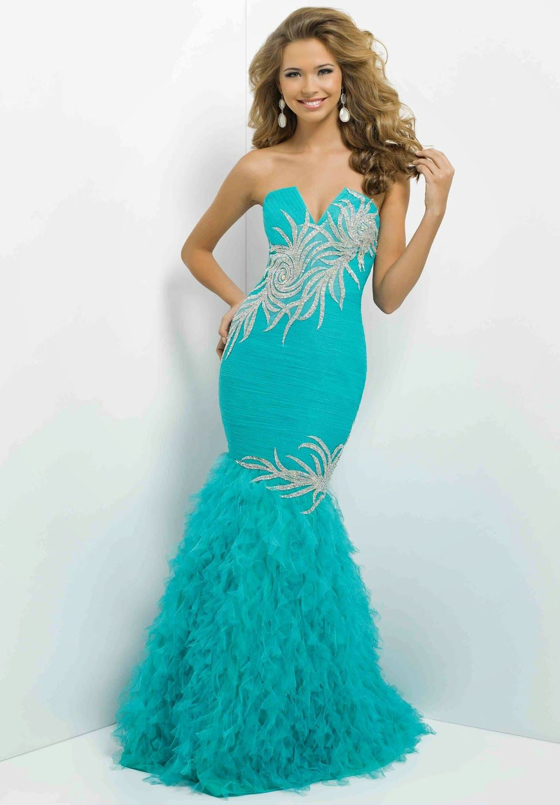 grandiosos vestidos largos de gala especial vestidos de fiesta elegantes