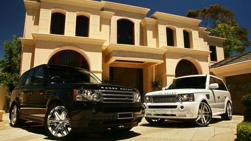 His and her range rovers