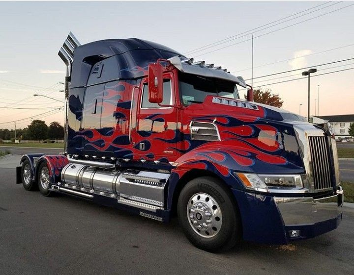 Pin By Little D On Transformers Optimus Prime Truck Western