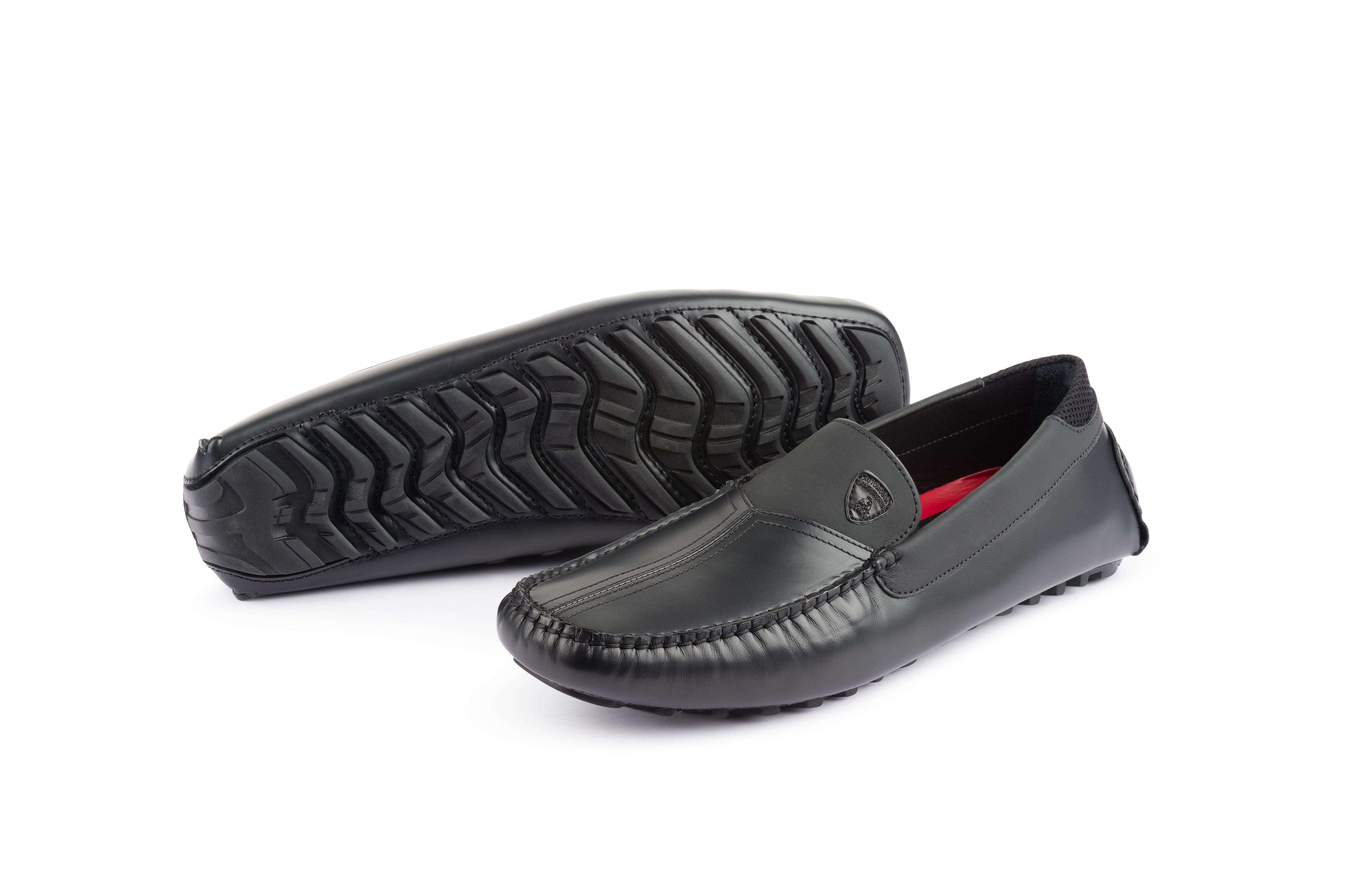 low priced ee20b 65305 air jordan 4 premium obsidian  aventador pirelli edition loafers black  collezione automobili lamborghini