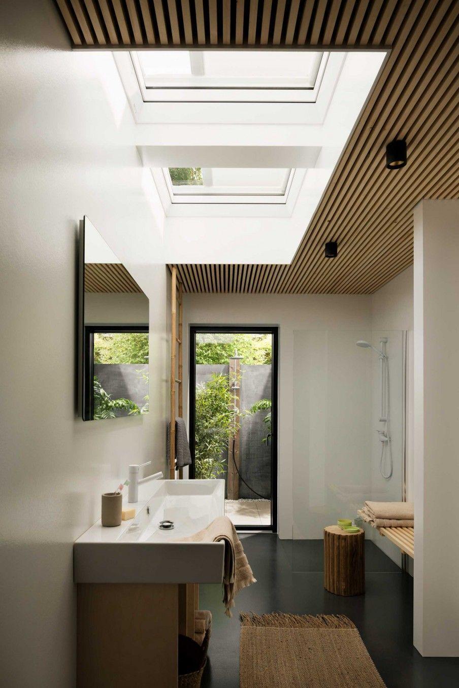 badkamer-dakvenster-velux #PlasticRoofingIdeas | Dorm Roofing Ideas ...