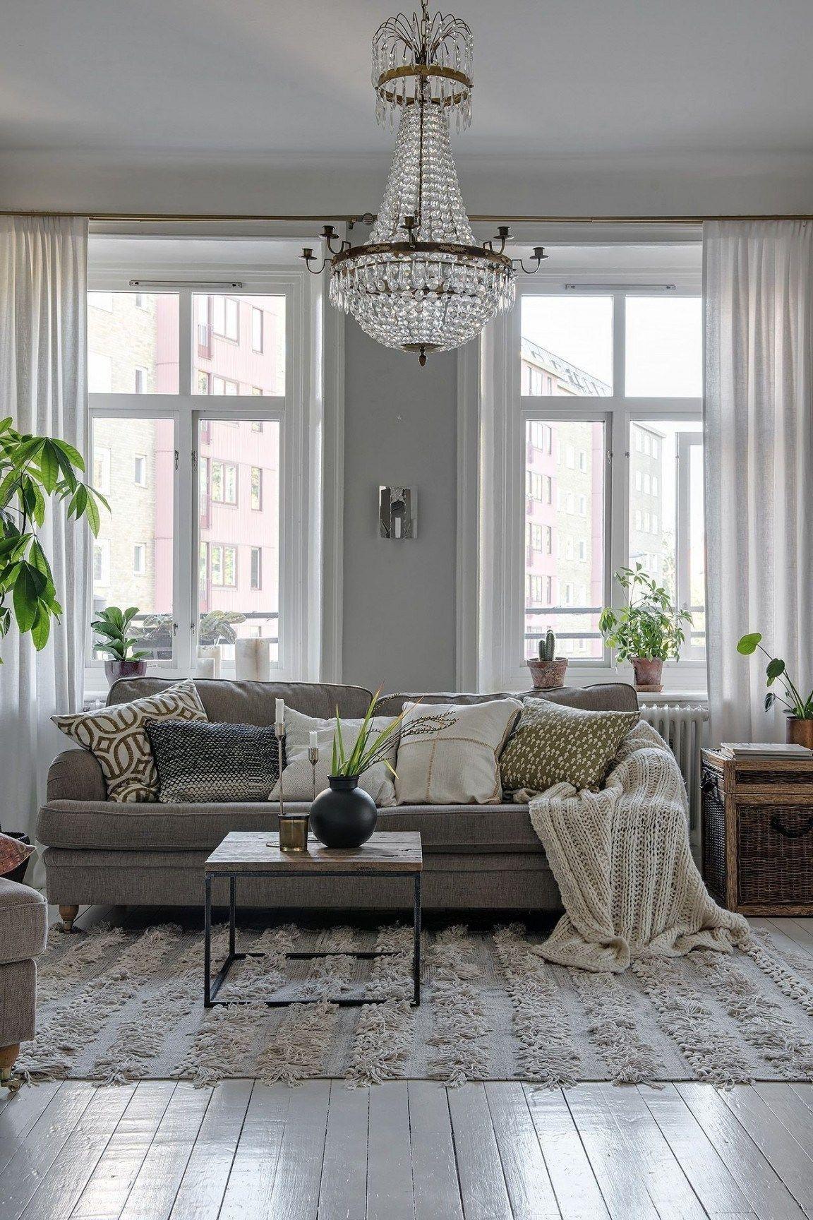 Deko Wohnzimmer Modern Pinterest - Haus Ideen  Haus