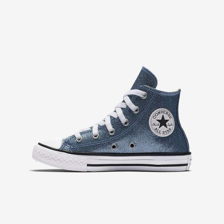463e7080cdb2 Converse Chuck Taylor All Star Autumn Glitter High Top Big Kids  Shoe