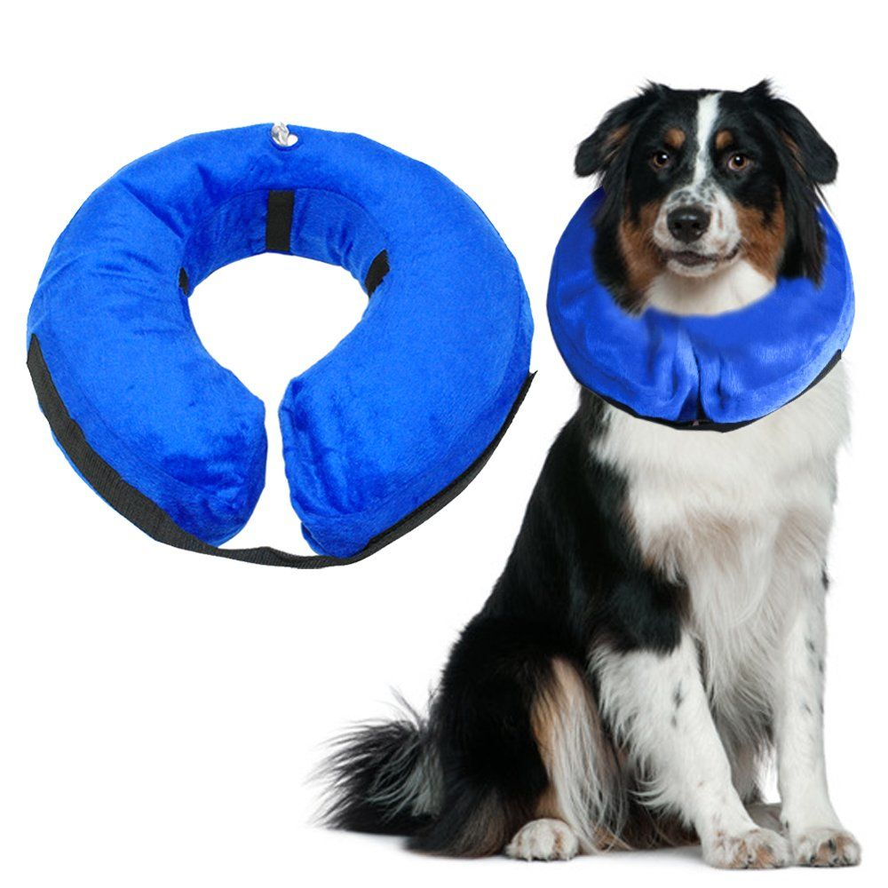 Big Deal Protective Inflatable Collarsoft Pet Recovery For Dogs And Cats Injuries Rashes Surgery Mediumneck Circumference Pet Collars Buy A Kitten Cat Collars