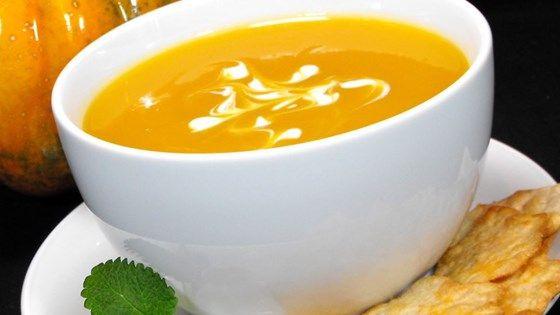 Butternut And Acorn Squash Soup Recipe Acorn Squash Soup Acorn Squash Best Butternut Squash Soup
