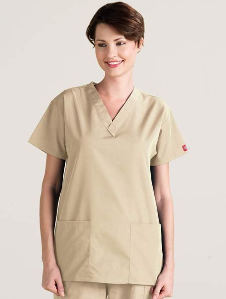 V-Neck Two-Pocket #scrubs #with #pockets