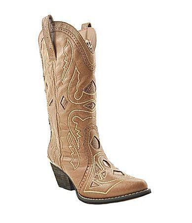 Reba Backstage Western Boots   Dillards