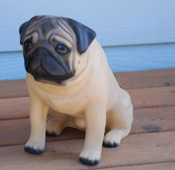 Fireside Pug A Life Size Ceramic Pug By Fortheloveofdogs