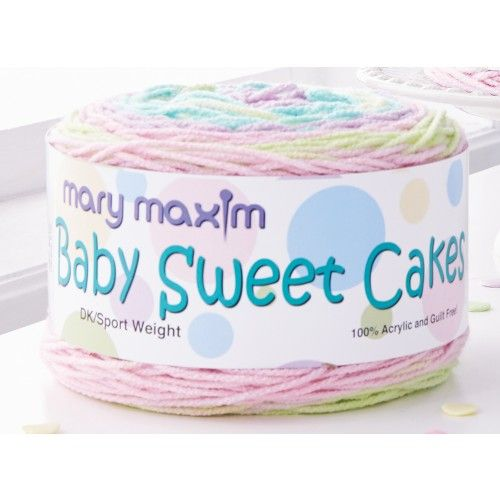 Baby Sweets Yarn | Knit I Say More? | Bernat baby blanket, Crochet