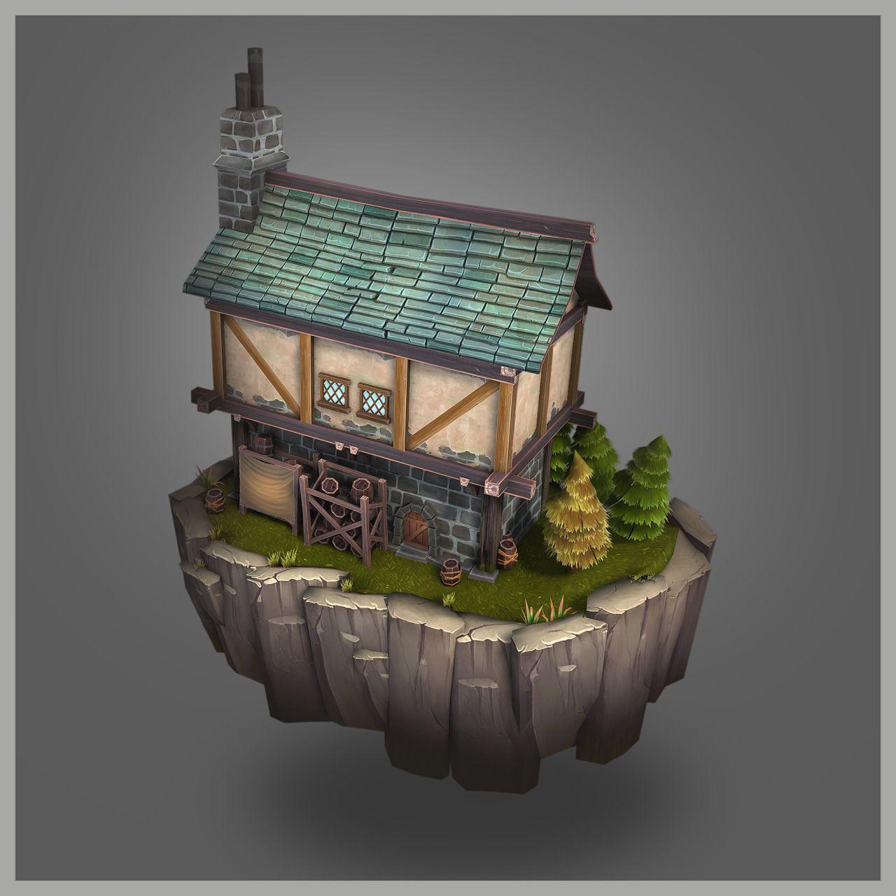 Free 3d Home Design Software Uk: Bitgem 3D Model Store Characters Buildings Props Textures