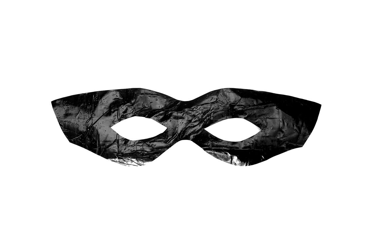 Easy Bandit Superhero Mask Template Diy