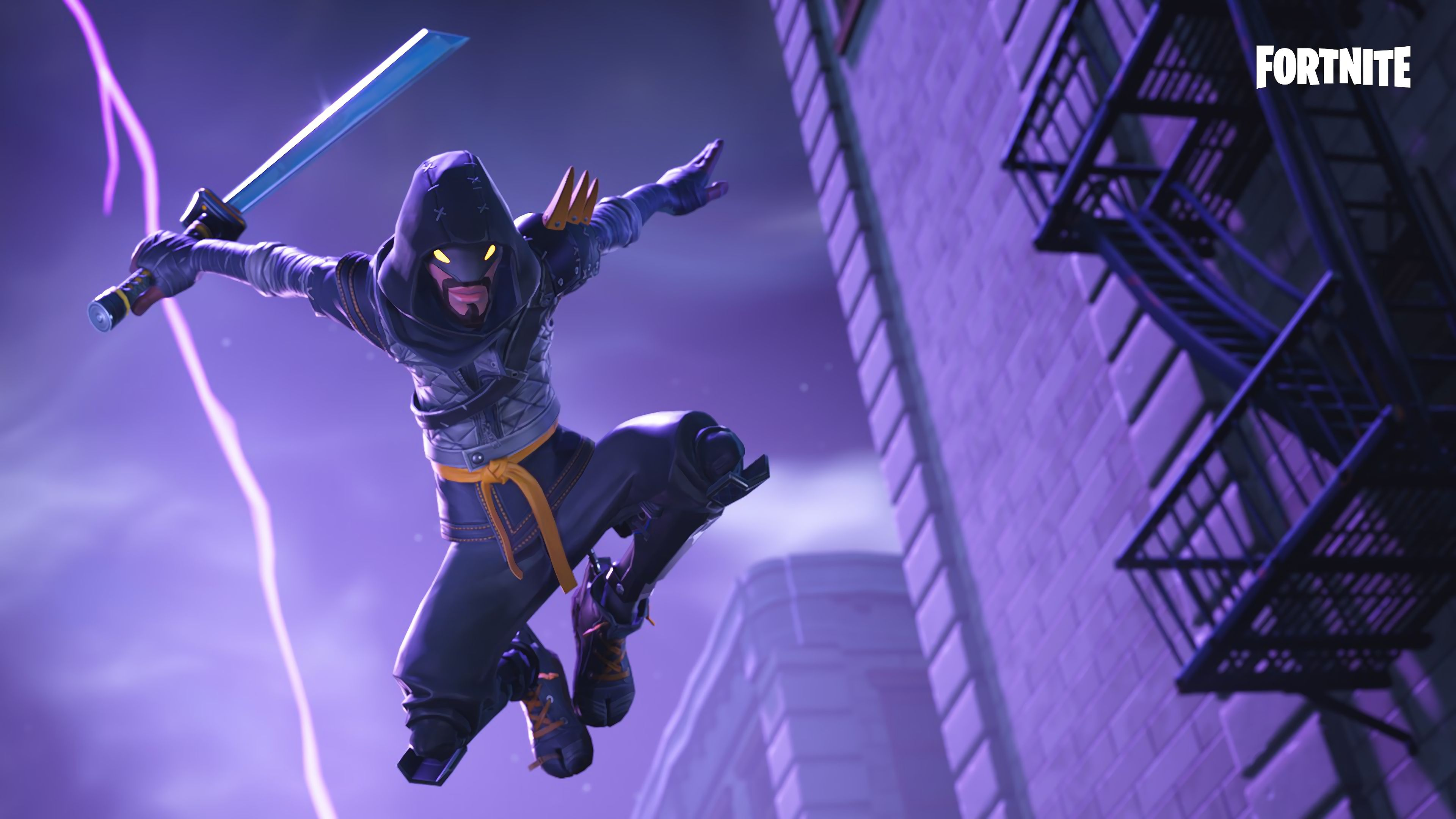 Wallpaper 4k Fortnite Mythic Cloaked Star Ninja 2018 Games