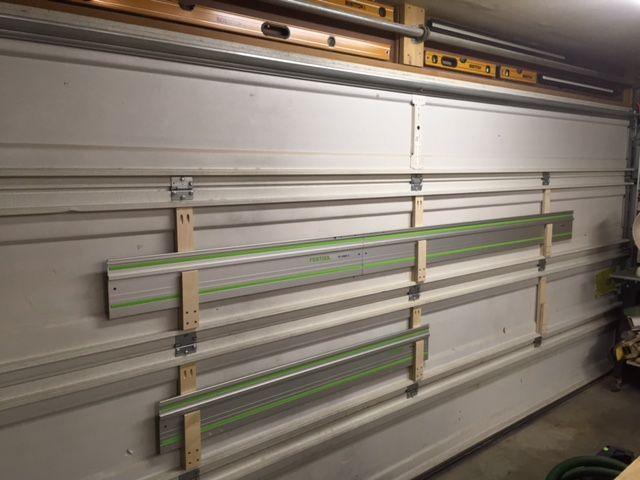 Guide Rail Garage Door Storage Workshop Festool