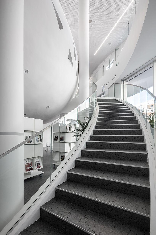 Jean Pierre Lott Completes Vitrolles Media Library In France Vitrolles Design Architecture