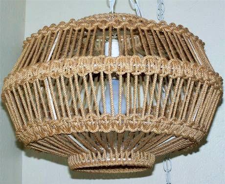 Macrame hanging lamps   Macrame - Other   Pinterest ...