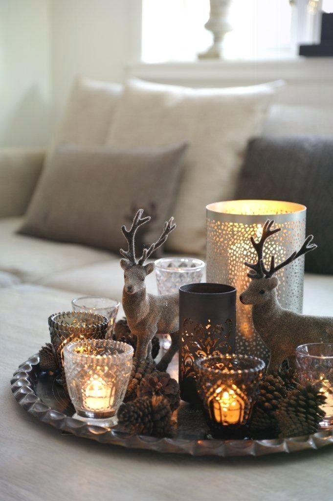 Ausgezeichnet rustikale Dekorationen zu Gunsten von ein warmes Weihnachtsfest, Au Naturele #weihnachtendekorationtischdekoration