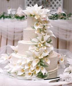 Calla Lilly Wedding Cakes For In Chicago The Specialists