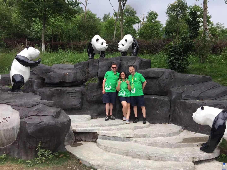 ChengDu DuJiangYan Panda Volunteer