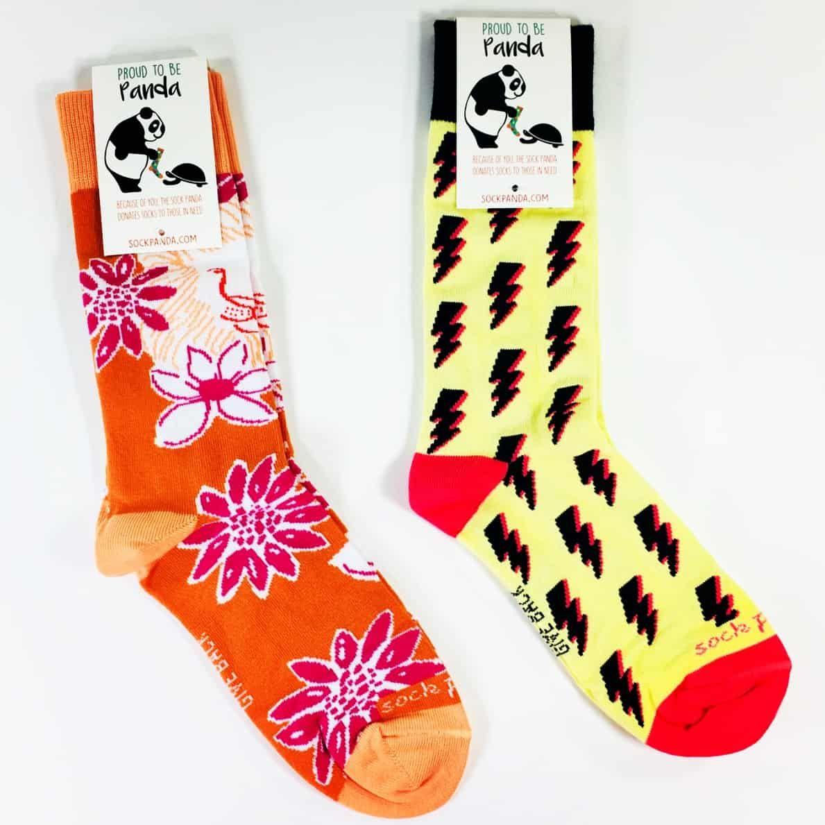 Sock Panda Women Socks September 2018 Subscription Review Coupon Hello Subscription Socks Cute Socks Kids Socks