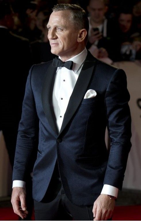 James Bond Daniel Craig Skyfall Tuxedo Suit in 2019 ...