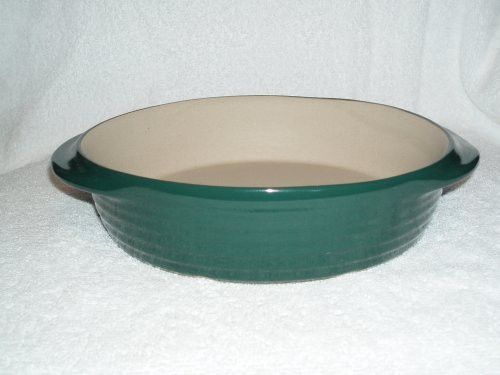 The Pampered Chef New Traditions Mini Baker Hunter Green