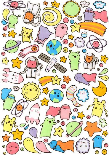 Line Sticker สติกเกอร์, สมุดออร์แกไนเซอร์, ภาพประกอบ