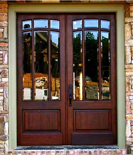 Lasting Light Clark Hall Doors Offers Elegant Hardwood And Wrought