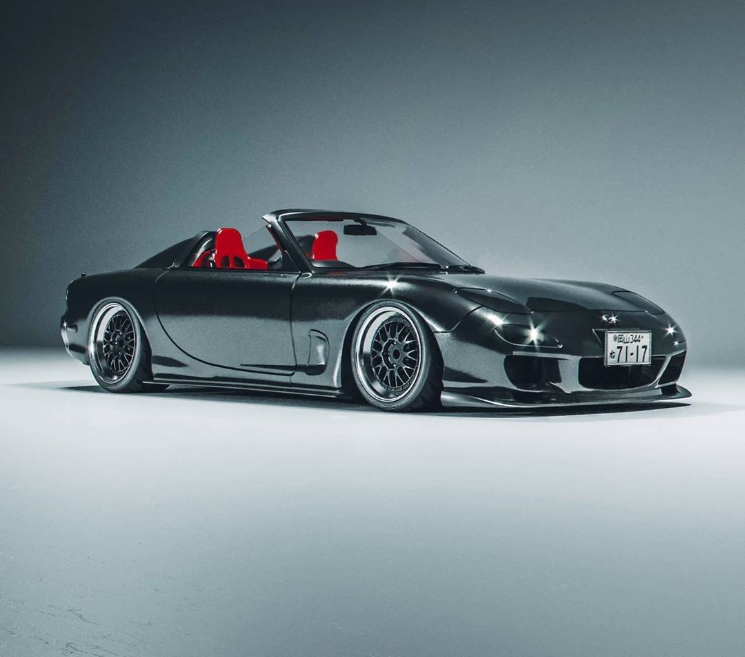 Pin By Connor Phillips On Mazda Rx7 Fd In 2020 Tuner Cars Hot Cars Sport Cars