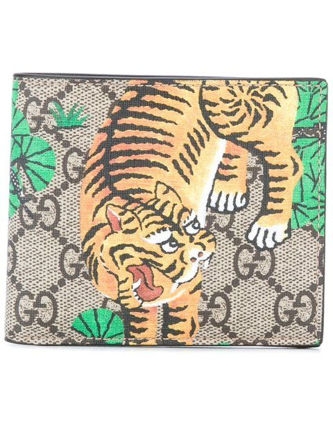 68880f0ce5aa GUCCI GG Supreme Bengal tiger wallet. #gucci #wallet | Gucci Men in ...