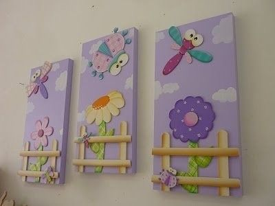cuadros para niñas para habitación | детская | Pinterest | Para ...