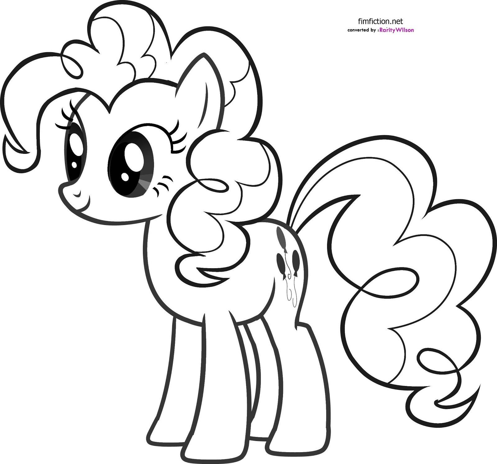 My Little Pony Pinkie Pie Coloring Pages | Coloring99.com | Solo ...