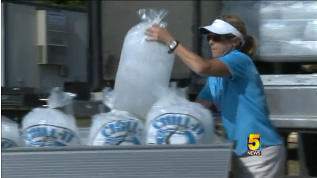 Got Water At The Lpga Ice Bag Bags Fashion Bags