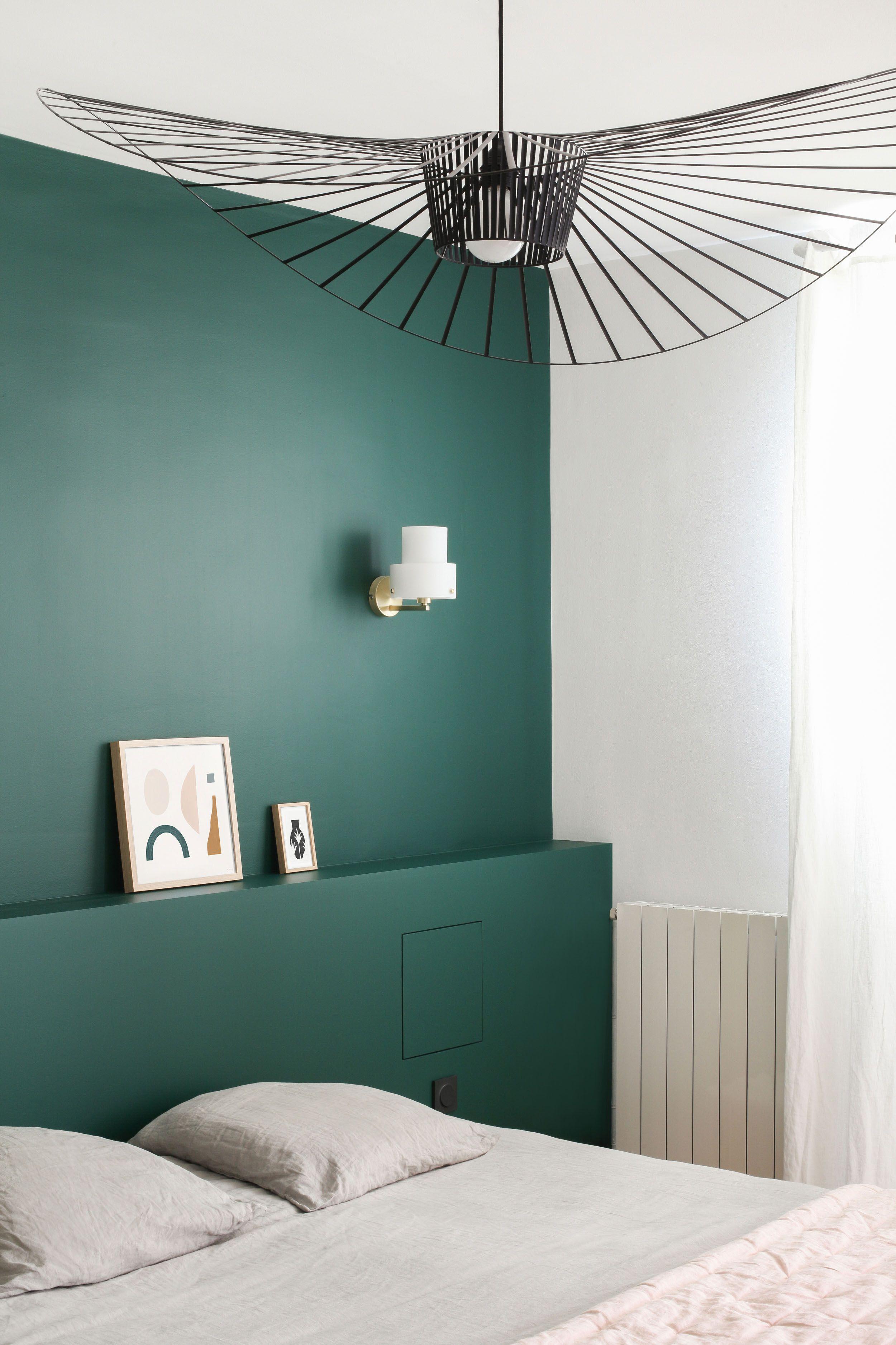 Heju studio r novation loft paris en 2019 loft paris - Idee peinture chambre mansardee ...