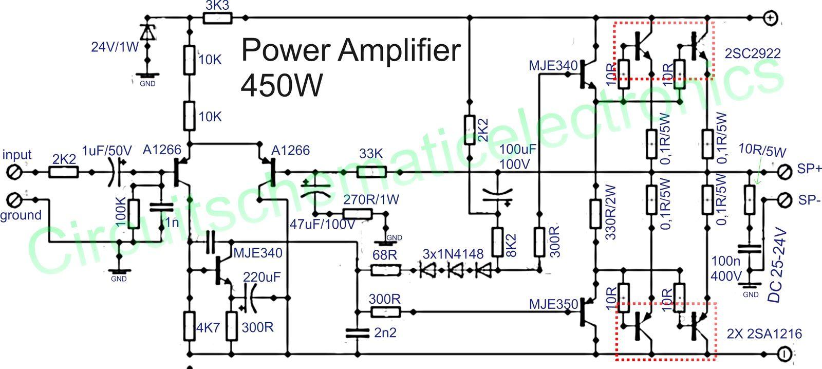 componente amplificador de udio circuito p gina 16. Black Bedroom Furniture Sets. Home Design Ideas