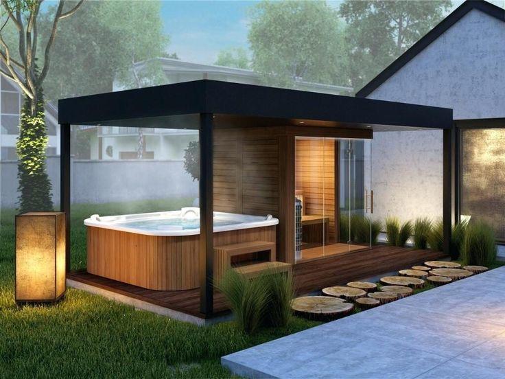 Das Haus als Flucht vor der Realität, nicht nur durch den Sommer - Article user garazenak ... - terasa - #hottubdeck