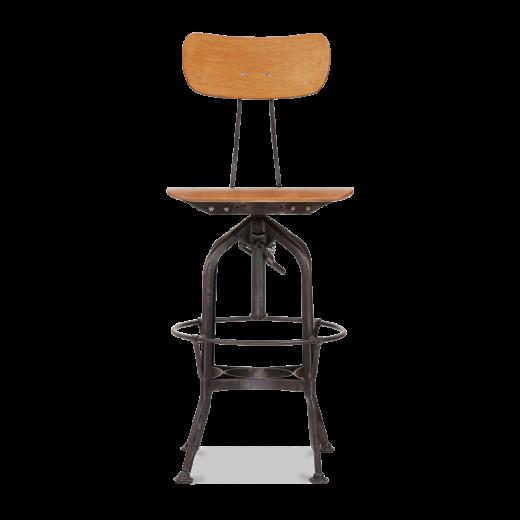 Rustikal Finish 64-74cm Toledo Style Vintage Hocker | Cult Furniture ...