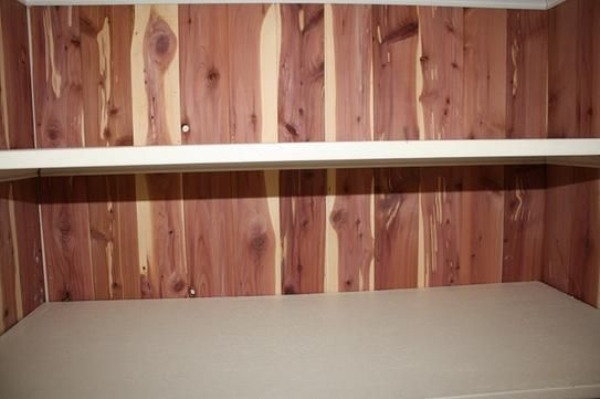 CedarSafe Aromatic Cedar Natural Closet Liner Planks
