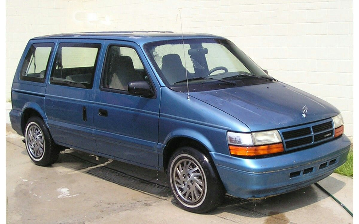 1990s Dodge Caravan Mini Van Dodge Caravan