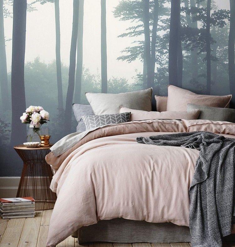 Rosenquarz Und Serenity Trendfarben Im Schlafzimmer