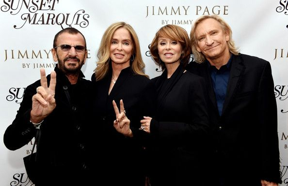 Joe Walsh Photos Ringo Starr Honored In La Part 2 Pinterest Marjorie Bach And David Lynch