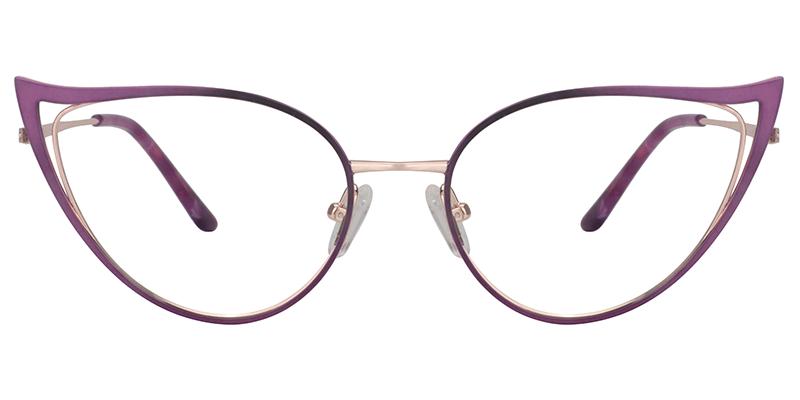 Purple Cateye Glasses Zeelool Eyeglass Frames Cat Eye Glasses Frames Cat Eye Glasses Fashion Eye Glasses