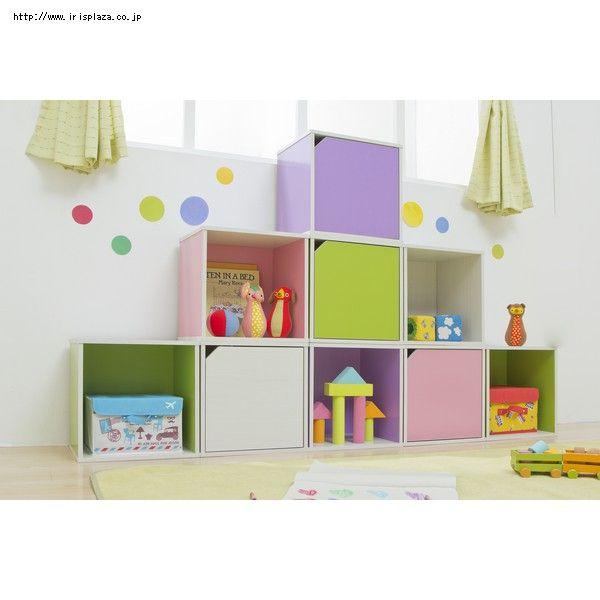 カラーボックスは色んなシーンに使えて便利!キッズルームやリビング、書斎など色んなインテリアに大活躍してくれます。かわいくアレンジしたインテリアをご紹介。