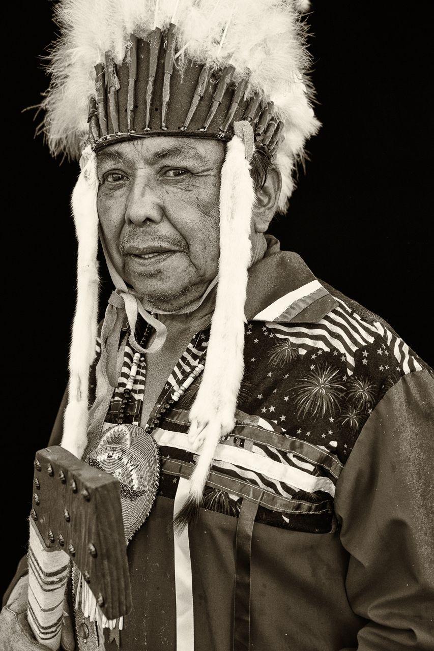 Harvey Jin, Warm Springs Tribe. Joni Kabana Photography