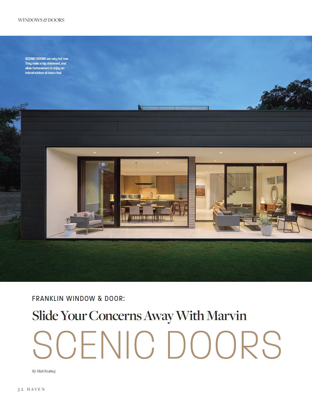 Franklin Window Door Slide Your Concerns Away With Marvin Scenic Doors Click The Photo To Read The Article Slide Your Co Windows And Doors Windows Doors