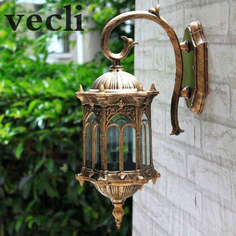 Find More Outdoor Wall Lamps Information About Popular Retro Outdoor Wall Light Favorable Europe Villa Sconce Avec Images Eclairage Mural Applique Exterieur Mur Exterieur